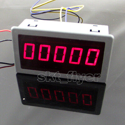 "0.56"" Red LED Digital Counter & Timer & Meter count Three Function DC 12-24V"