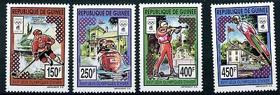 Guinea MiNr. 1428-31 postfrisch/ MNH Olympia (Oly1163