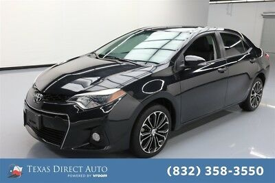 Toyota Corolla S Plus 4dr Sedan CVT Texas Direct Auto 2015 S Plus 4dr Sedan CVT Used 1.8L I4 16V Automatic FWD Sedan