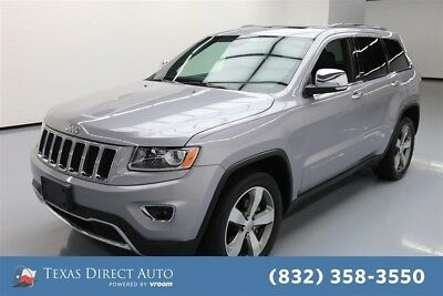 Jeep Grand Cherokee Limited Texas Direct Auto 2016 Limited Used 3.6L V6 24V Automatic RWD SUV Premium