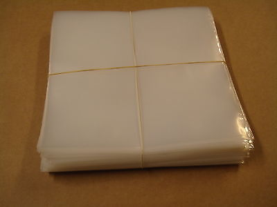 "100 PLASTIC SINGLES SLEEVES / 100 PLASTIC 7"" SINGLE POCHETTES 185 x 185 x 0,10mm"