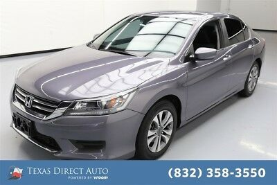 Honda Accord LX Texas Direct Auto 2014 LX Used 2.4L I4 16V Automatic FWD Sedan