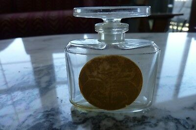 Vintage Le Tabac Blond Caron Paris perfume bottle and stopper