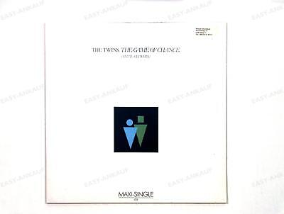 The Twins - The Game Of Chance (Anvil-Club-Mix) Europe Maxi 1984 /3