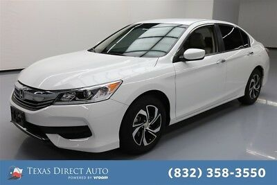 Honda Accord LX Texas Direct Auto 2017 LX Used 2.4L I4 16V Automatic FWD Sedan