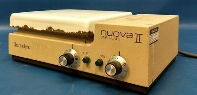 Thermolyne Nuova II 18400 Stirring Hot Plate 100-1000 RPM Tested