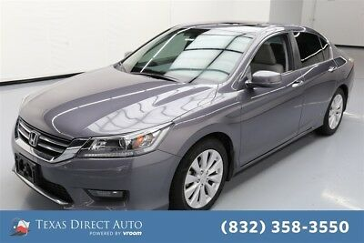 Honda Accord EX Texas Direct Auto 2014 EX Used 2.4L I4 16V Automatic FWD Sedan Moonroof