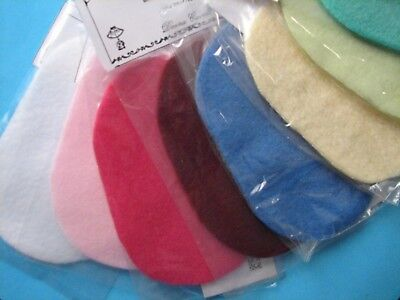 """Dollhouse Miniature Wholesale Lot of 12 Assorted Colors Rugs 3 1/4"""" x 5"""""""