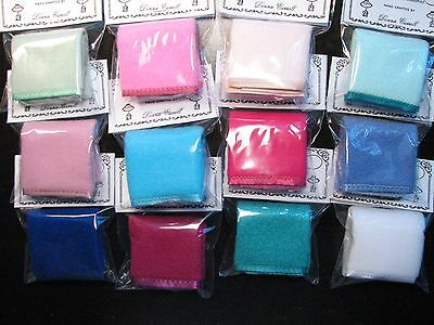 Dollhouse Miniature Soft Fuzzy Blankets Wholesale Lot of 1 Dozen Asstd.