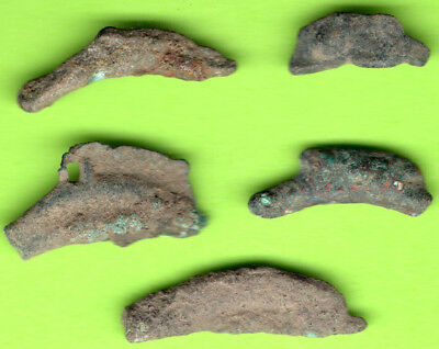 Sarmatia OLBIA Cast Proto Money DOLPHIN 5th BC Ukraine Crimea Russland 5 pc. 158