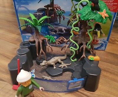 Playmobil Kaimanbecken / Krokodile in OVP