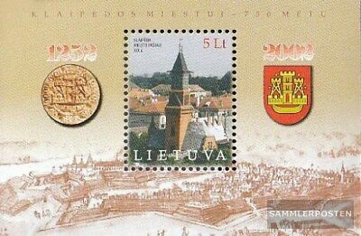 Lithuania Block 26 (complete issue) unmounted mint / never hinged 2002 Klaipeda