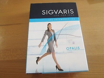 CHAUSSETTES DE CONTENTION SIGVARIS OPALIS Small/LONG Classe 2 CACAO