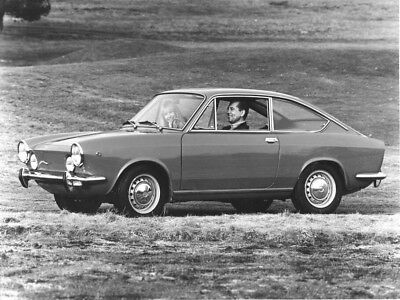 1967 Fiat 850 ORIGINAL Factory Photo oac0478