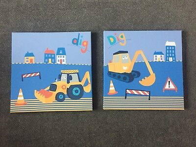 *Boys* Little Digger Bedroom Bundle.. Next officialUsed but good condition.