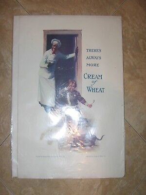 Two 1920's Cream Of Wheat Black Americana Magazine Tear Sheet Advertisements