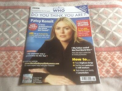 BBC Who Do You Think You Are? Mag - #12 Aug 2008 - Patsy Kensit