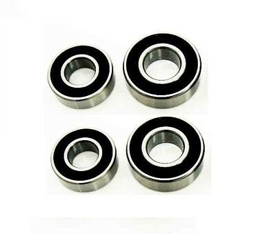 4 Trailer Wheel Bearings for Daxara 106 126 136 (2 Hubs)