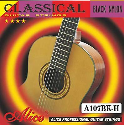 20X Alice A107BK-H Black Nylon Coated Bronze Alloy Wound Classical Guitar String