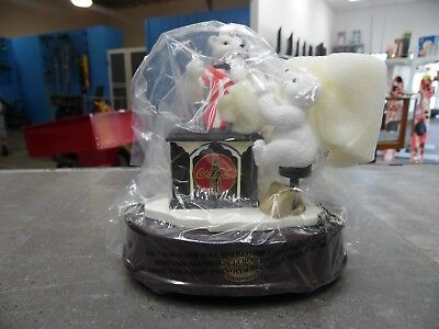 Coca Cola Christmas Around the World Fountain Musical 630155 polar bears 809192