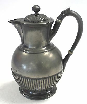 Vintage JAMES DIXON & SONS Electroplated Britannia Metal Coffee/Teapot  - D16