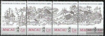 Macao 1052-1055 quad strip (complete issue) unmounted mint / never hinged 1999 m