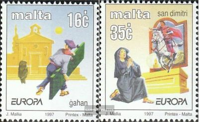Malta 1012-1013 (complete issue) unmounted mint / never hinged 1997 Europe