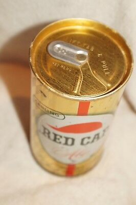 Carling Red Cap Cleveland and others Zip Top Beer Can intact  BO