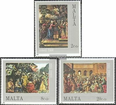 Malta 713-715 (complete issue) unmounted mint / never hinged 1984 christmas