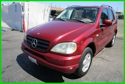 Mercedes-Benz M-Class ML320 2001 Mercedes-Benz ML320 4MATIC Automatic 6 Cylinder NO RESERVE