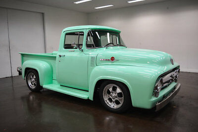 F-100 -- 1956 Ford F100  49 Miles Mint Green Pickup Truck 347 Automatic Overdrive