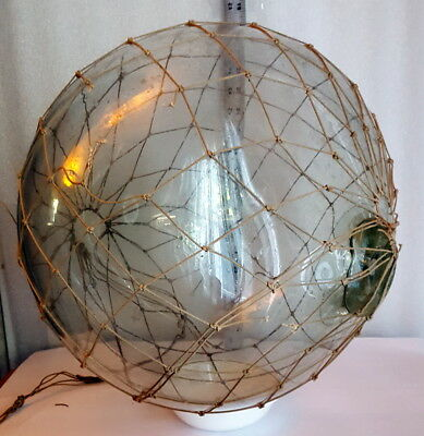 Large Old Glass Fishing Float