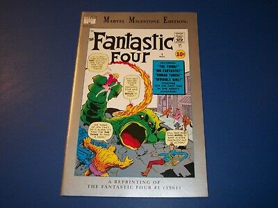 Fantastic Four #1 Marvel Milestone Edition Reprint VFNM Beauty