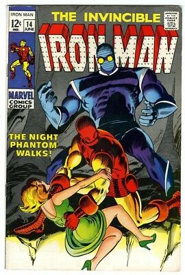 Iron Man #14 (1969) VF- New Marvel Silver Bronze Collection