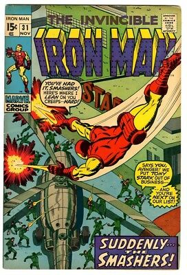 Iron Man #31 (1970) F/VF New Marvel Silver Bronze Collection