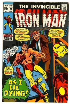 Iron Man #37 (1971) VF- New Marvel Silver Bronze Collection