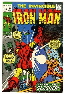 Iron Man #41 (1971) VF- New Marvel Silver Bronze Collection
