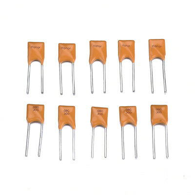 10x RGEF300 16V 3A Resettable Fuse Radial Lead Polyswitch PPTC