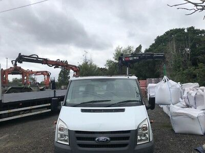 Ford Transit with Fassi crane