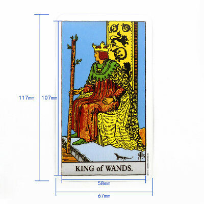 The Most Popular Tarot Deck Cards English Edition Knight Tarot Collection Gifts