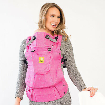 LILLEbaby The COMPLETE Woven SIX-Position, 360° Ergonomic Baby Carrier