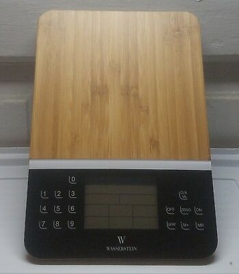 Wasserstein Digital Nutrition Scale Display Accurate Food Calculator Kitchen