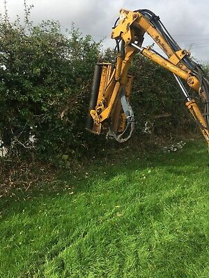Bomford Flail Hedge Cutter. Tractor mounted on 3point linkage.No Vat