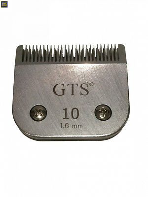 A5 Clipper tondeuse Lames 1,6 mm # 10 Wahl, Andis, Aesculap, Moser, Oster,...