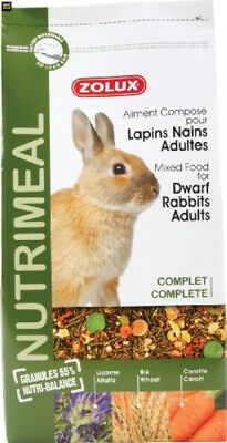 Zolux Nutri'meal Aliment pour Lapin 2,5 kg