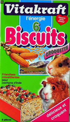 Vitakraft 25368 - Biscuits Croquette - Cochons d'Inde P/6