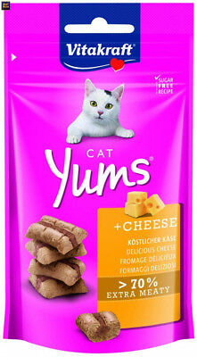 Vitakraft Cat YUMS Fromage Friandise Chat 40 g