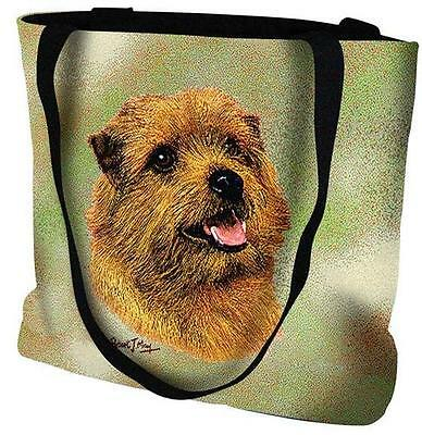Woven Tote Bag - Norfolk Terrier 6366