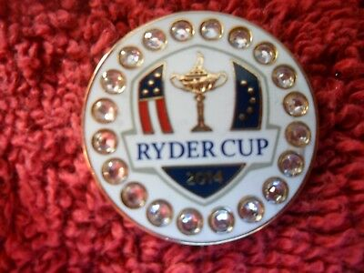 New Ryder Cup 2014 Gleneagles In Scotland Golf Ball Marker