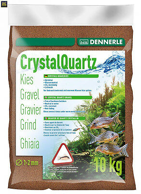 Dennerle Gravier quartz marron (1 à 2 mm), 10 kg